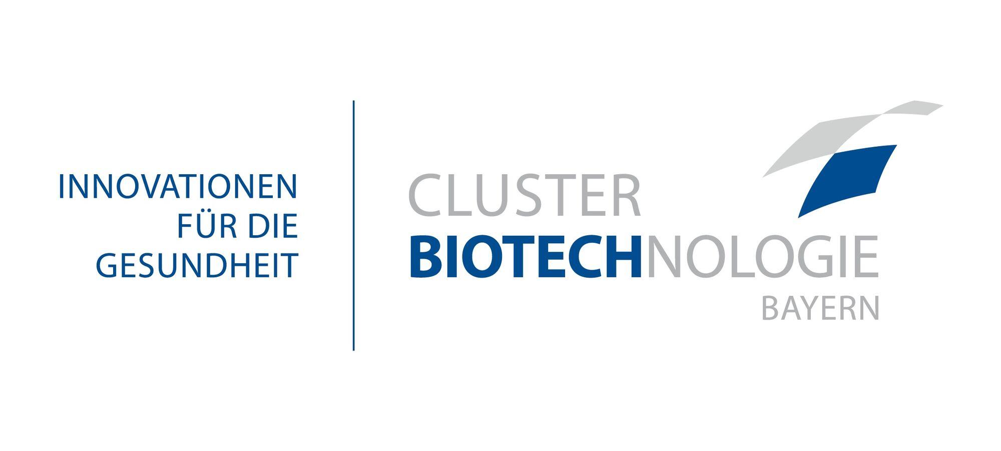 Biotechnologie bayern neues logo