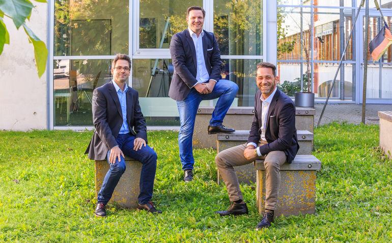 EMnify: v.l.n.r.: Martin Giess, Frank Stöcker, Alexander Schebler